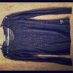 Lace Dress Shirt